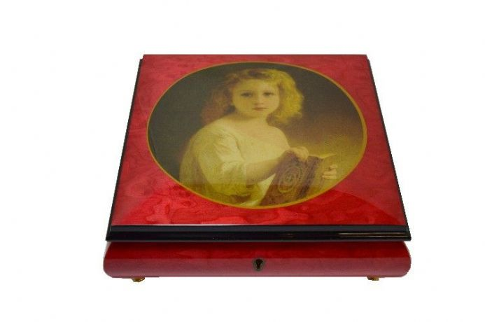 Rose Red Ballerina Picture Box AV5064